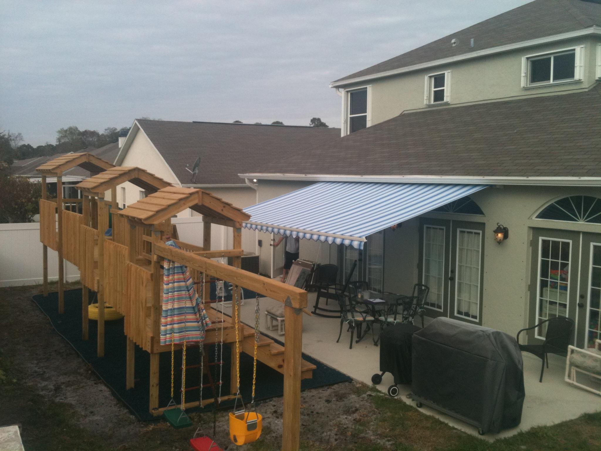 Sunesta Shade Systems Eddy Storm Protection