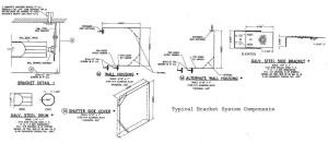 bracket system detail